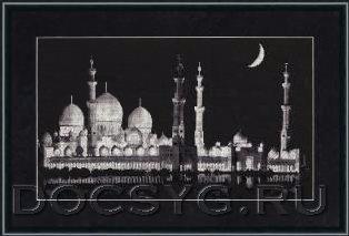 схема вышивки Мечеть шейха Заида (314x213, 40Kb)