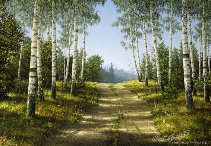 Белорусский художник Владимир Анищенко. Родная природа