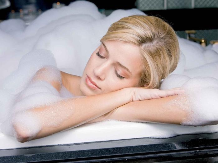 Фото блондинок после ванны фото 164-509
