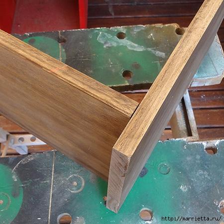 Мебель своими руками. Подставка для кресла (8) (450x450, 160Kb)
