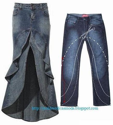 джинсовые выкройки (434x480, 121Kb)