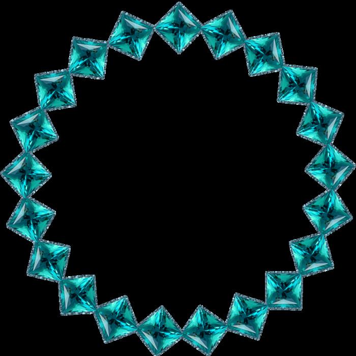 Round precious frames by DiZa (3) (700x700, 333Kb)