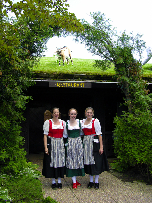 козы на крыше ресторан Al Johnson's Swedish Restaurant and Butik 8 (525x700, 606Kb)