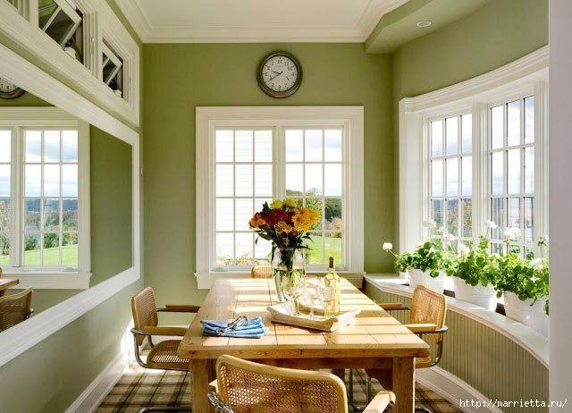 Как правильно оформить кухню в зеленых тонах (2) (640x462, 163Kb)