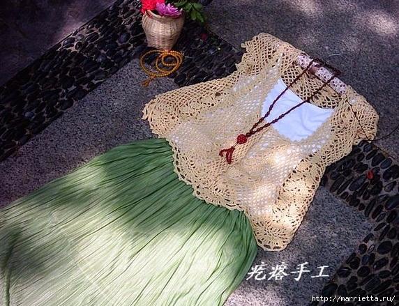 Ажурная летняя блуза крючком (8) (572x439, 267Kb)