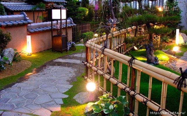 Правильное освещение – красивый сад (1) (640x400, 203Kb)