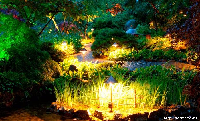 Правильное освещение – красивый сад (13) (700x423, 375Kb)