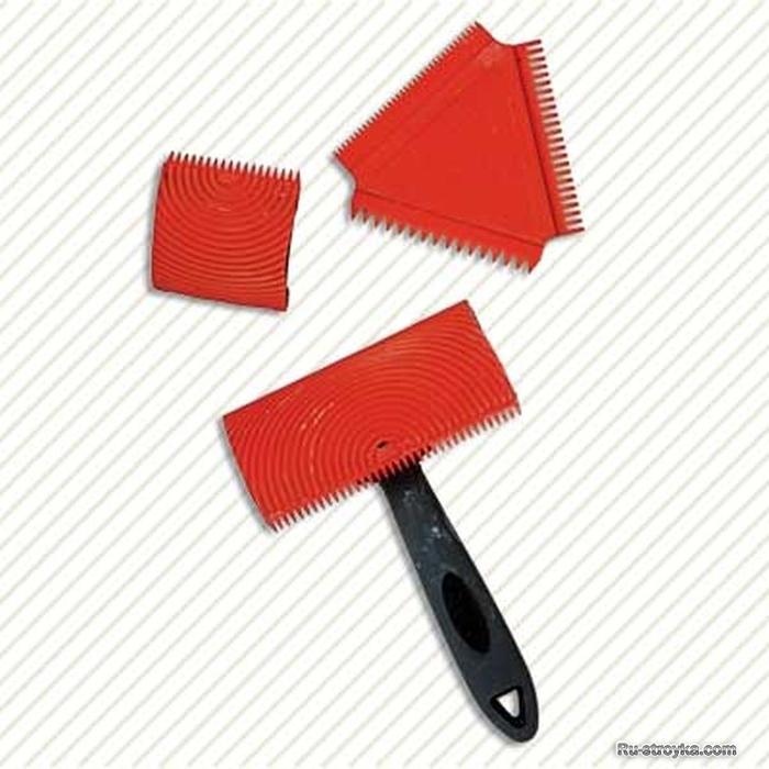 Как сделать резиновый шпатель