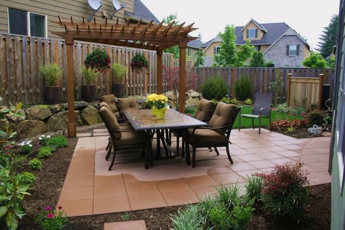 Красивые беседки, патио, веранды и другие садовые постройки2 (700x467, 301Kb)