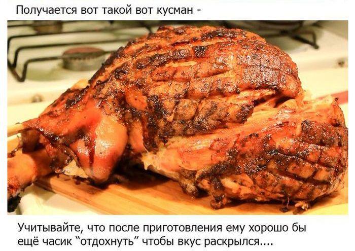 Окорок свиной что приготовить на сковороде с пошагово 2