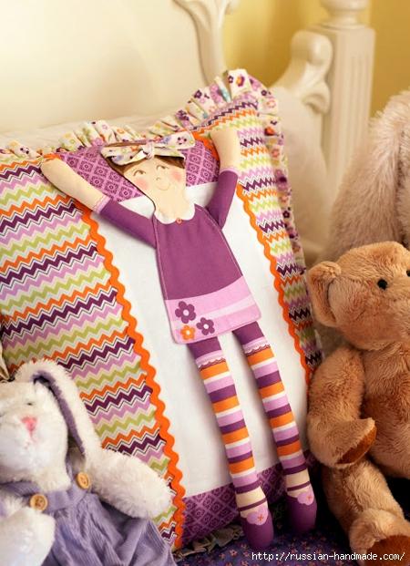 Подушка с куколкой для девочки. Мастер-класс (20) (450x621, 250Kb)