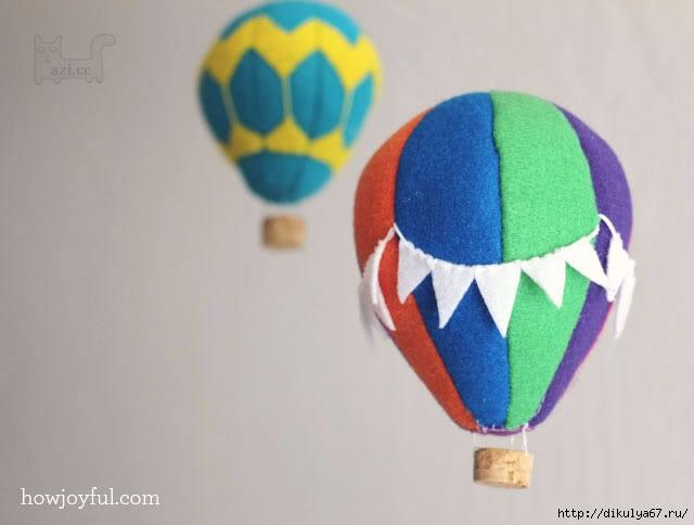 Как сделать воздушный шар из ткани - Шина Плюс