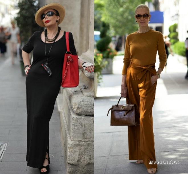 Модный стиль кому за 50