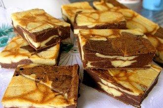 пирожное шоколад творог (330x220, 90Kb)