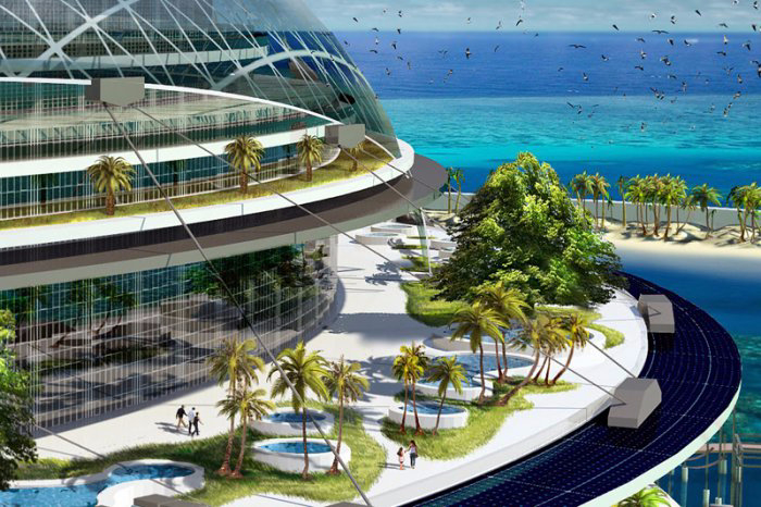 экологический остров Grand Cancun 6 (700x466, 390Kb)