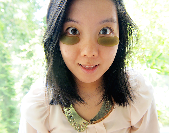 DIY beauty greentea lemon eyegel patch finished me4 (700x551, 1152Kb)