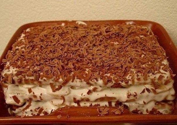 Тортики без выпечки своими руками
