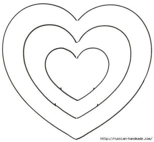 Декор подушки сердцем с розочками из фетра (5) (500x459, 48Kb)