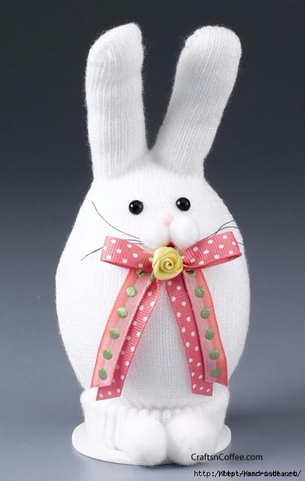Забавные кролики из носков. Мастер-класс (1) (444x699, 164Kb)