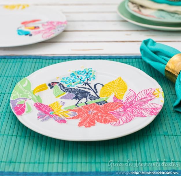 Декупаж тканью на керамической посуде (10) (626x609, 275Kb)
