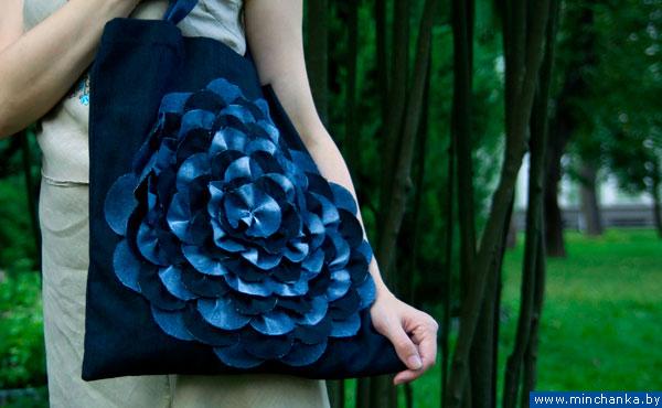 как сшить необычную сумку из джинсов. сумки из джинсов идеи.