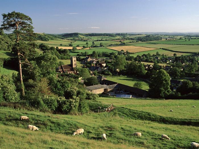 Corton Denham Village, Somerset, England (700x525, 192Kb)