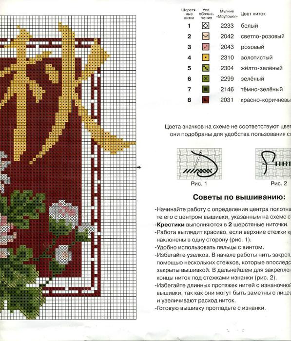 Часть 4 - Схема вышивки