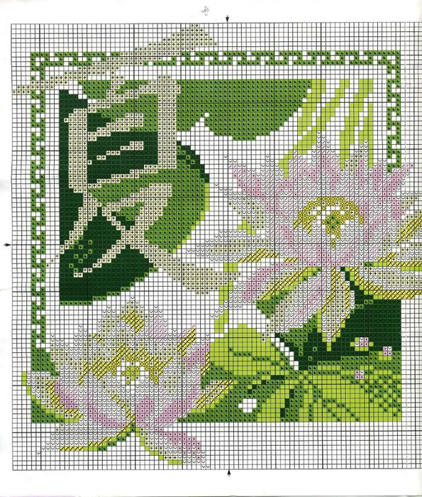 Часть 2 - Вышивка Хризантемы