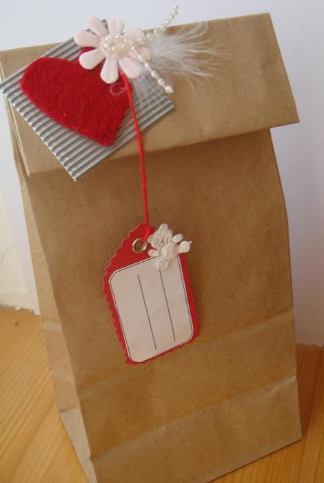 Подарочный пакет своими руками ко дню рождения