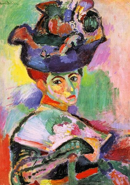 422px-Matisse-Woman-with-a-Hat (422x599, 85Kb)