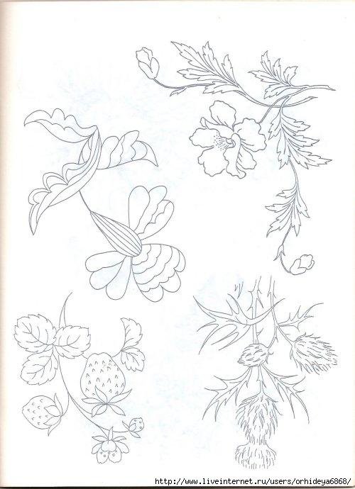 Часть 2. Схемы для вышивки. схемы, трафареты, вязания, вышивка, печворк, рисунки.  Схемки для стежки подушек.
