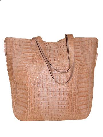 Модные сумки из кожи крокодила
