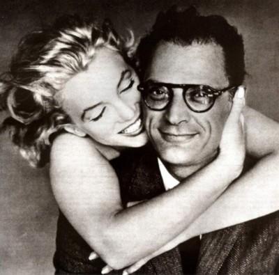 Marilyn Monroe & Arthur MIller Richard Avedon (400x395, 43Kb)
