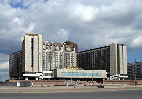 гостиницы санкт-петербурга.  Гостиница Прибалтийская.