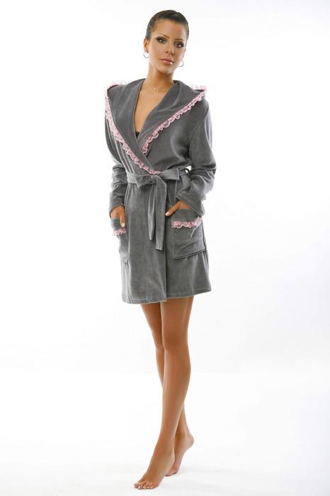 Выкройка халата с запахом - от Анастасии Корфиати