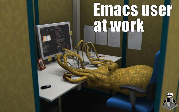 emacs_user_at_work_by_earlcolour-d38aj2x (700x437, 70Kb)