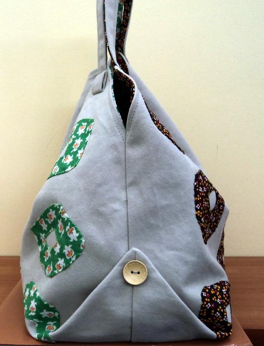 пляжная сумка сделанная своими руками