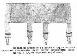 Советское женское белье.  Помните такое?
