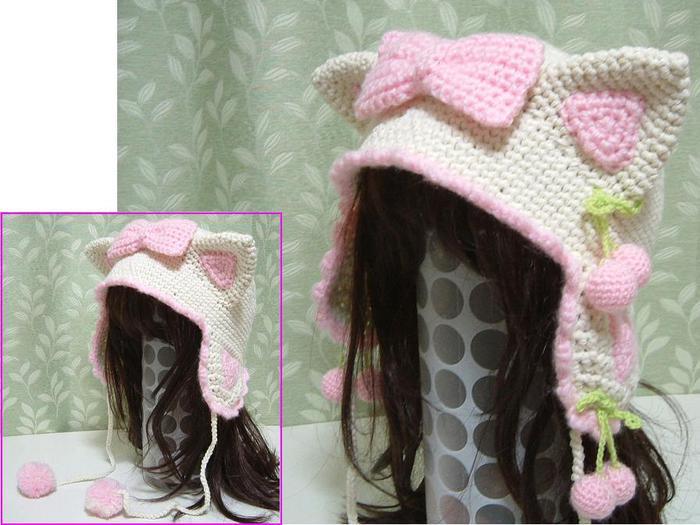 Вязание крючком шапка.