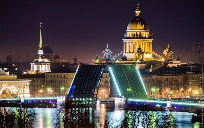 Виды Петербурга фото руфера Виталия Раскалова 7
