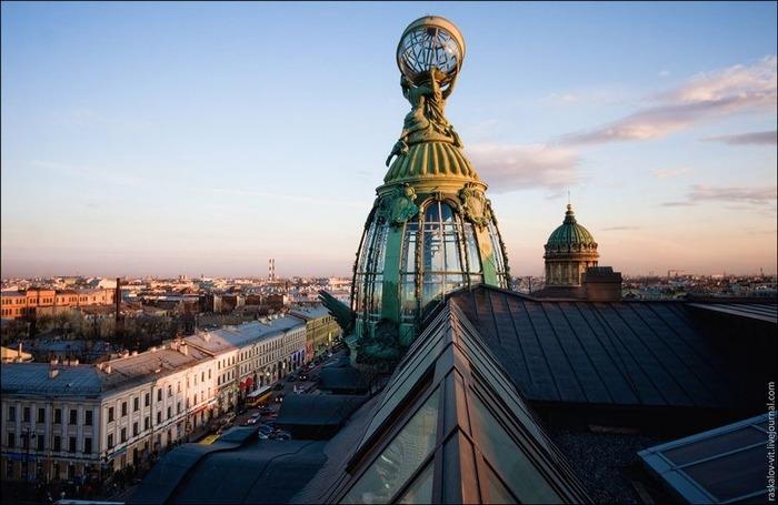 Виды Петербурга фото руфера Виталия Раскалова 2