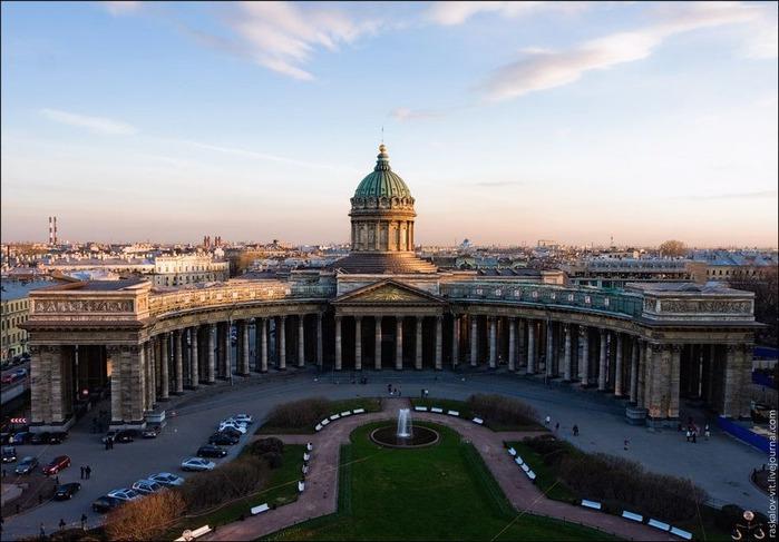 Виды Петербурга фото руфера Виталия Раскалова 3