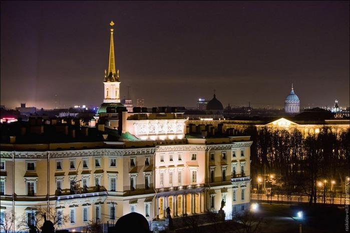 Виды Петербурга фото руфера Виталия Раскалова 12