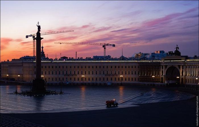 Виды Петербурга фото руфера Виталия Раскалова 17
