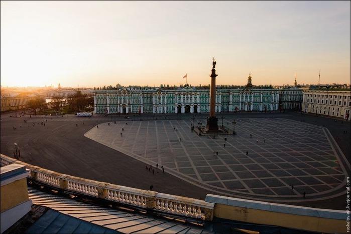 Виды Петербурга фото руфера Виталия Раскалова 19