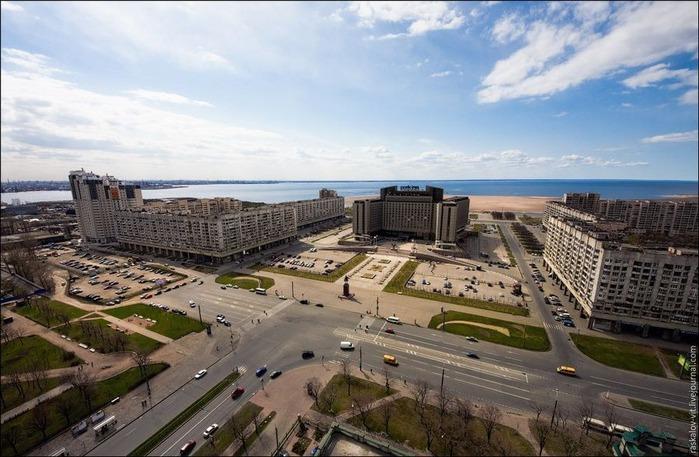 Виды Петербурга фото руфера Виталия Раскалова 25