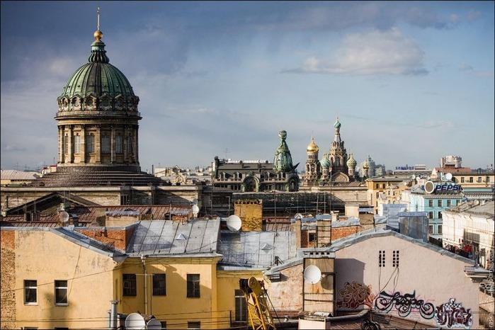 Виды Петербурга фото руфера Виталия Раскалова 27