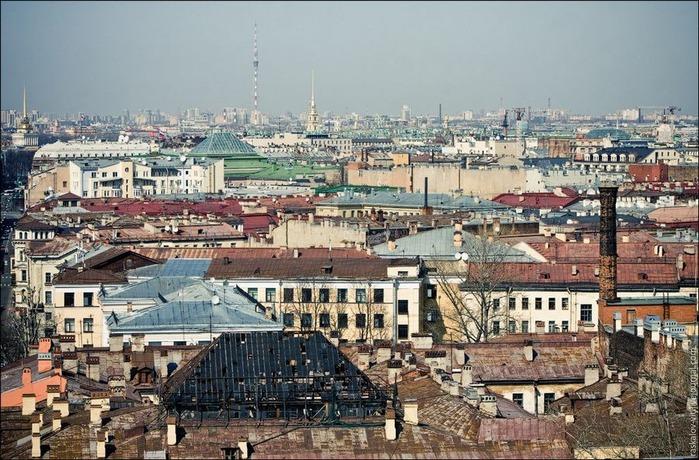 Виды Петербурга фото руфера Виталия Раскалова 35