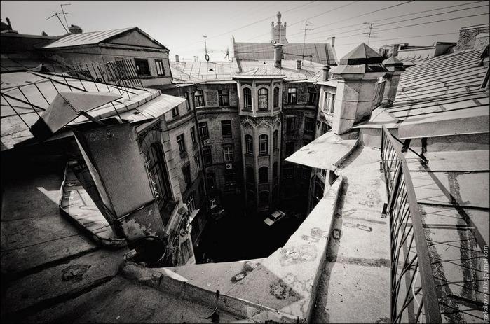 Виды Петербурга фото руфера Виталия Раскалова 38