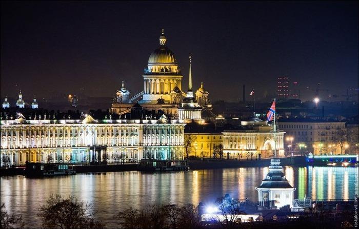Виды Петербурга фото руфера Виталия Раскалова 42